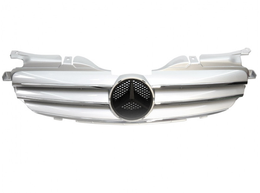 Хром/сива решетка за Mercedes SLK класа R170 1996-2004
