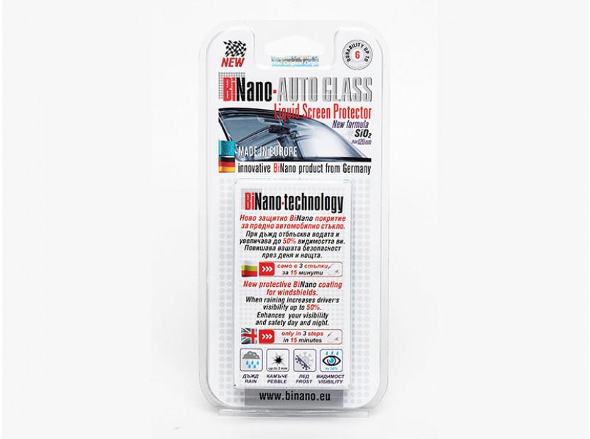 Защитно Binano покритие за предно автомобилно стъкло