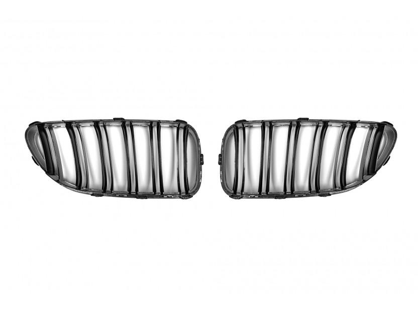 Бъбреци хром/черни за BMW серия 6 F06/F12/F13 след 2011 година 3