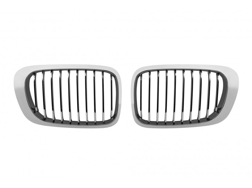 Бъбреци хром за BMW серия 3 E46 купе/кабрио 1999-2003