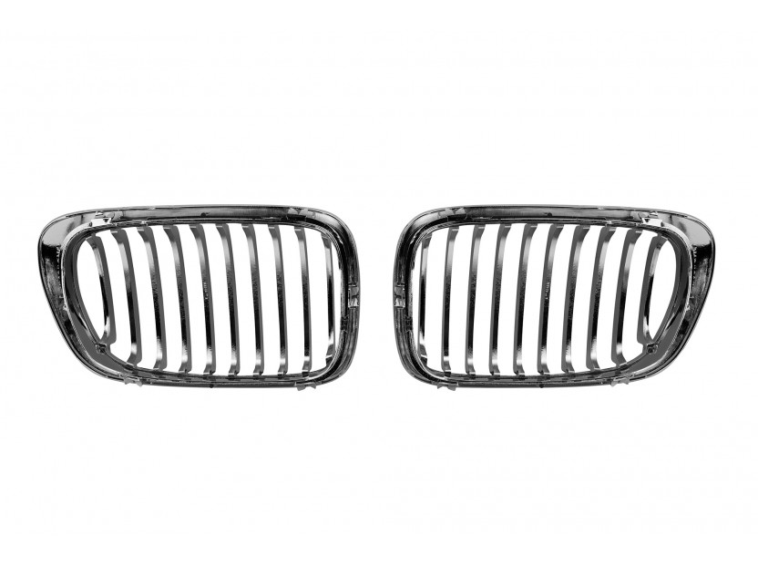 Бъбреци хром/черни за BMW серия 3 E46 купе/кабрио 1999-2003 3