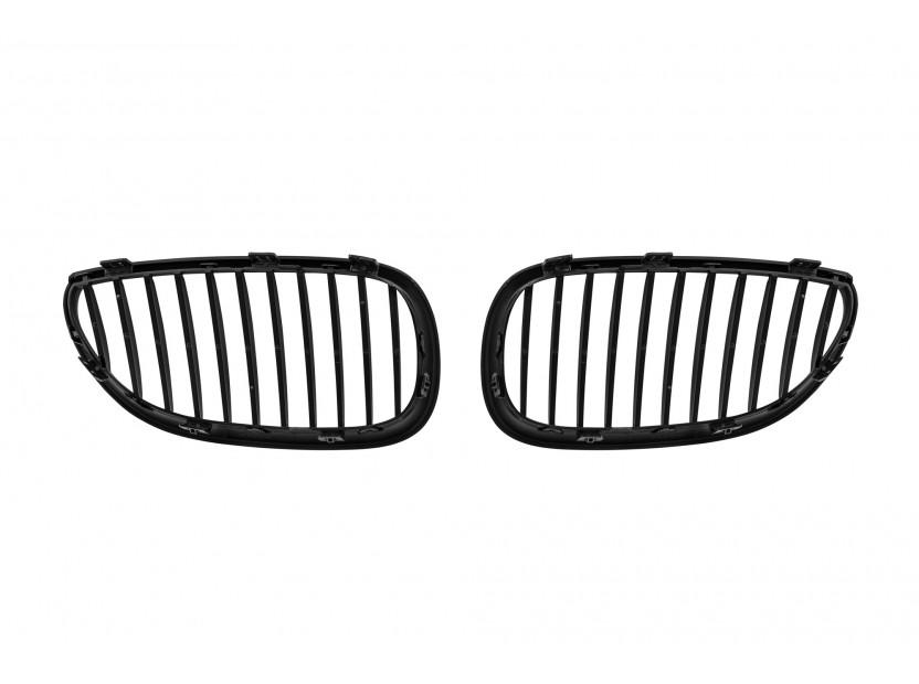 Бъбреци черен мат за BMW серия 5 E60 седан, E61 комби 2004-2010 3
