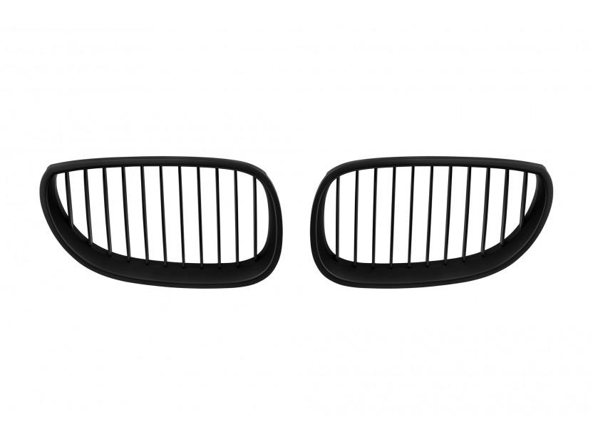 Бъбреци черен мат за BMW серия 5 E60 седан, E61 комби 2004-2010