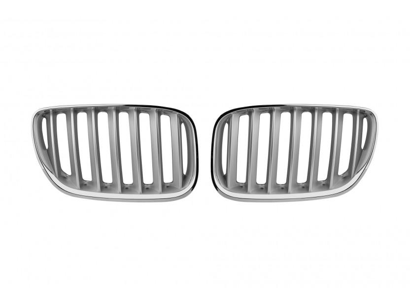 Бъбреци хром/сиви за BMW X5 Е53 2004-2006