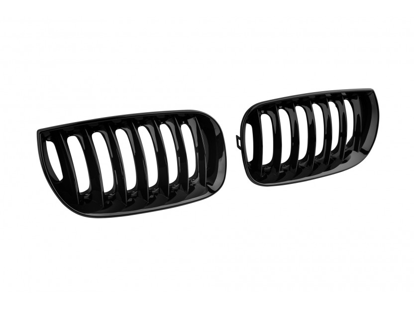 Бъбреци черен лак за BMW X3 E83 2004-2007 2
