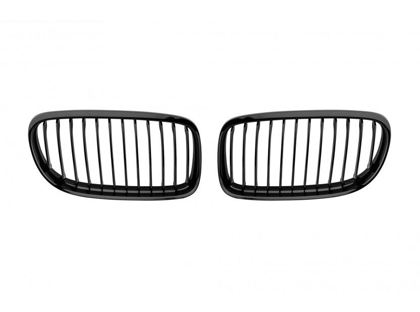 Бъбреци черен лак за BMW серия 3 E90 седан, E91 комби 2008-2011