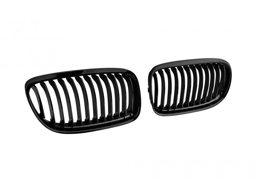 Бъбреци черен лак за BMW серия 3 E90 седан, E91 комби 2008-2011 2