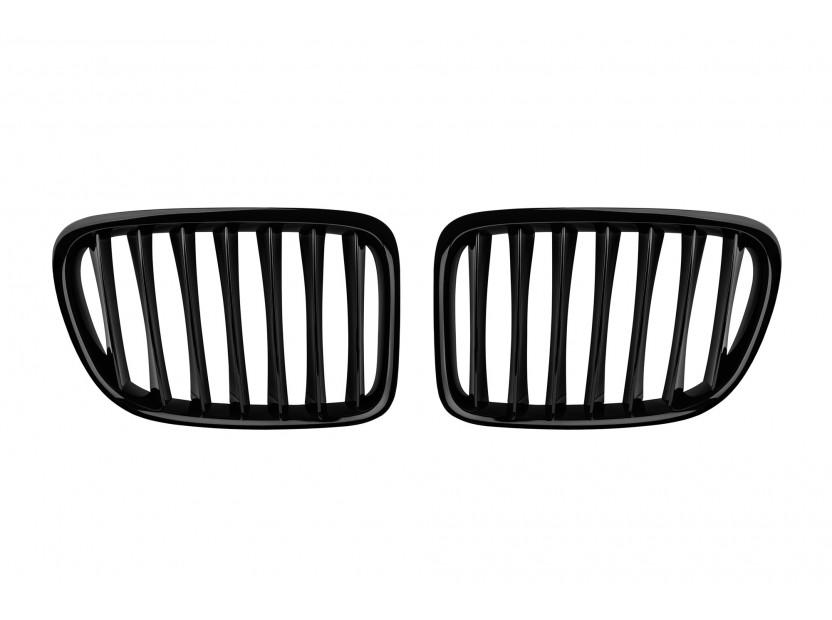 Бъбреци черен лак за BMW X1 E84 2009-2015