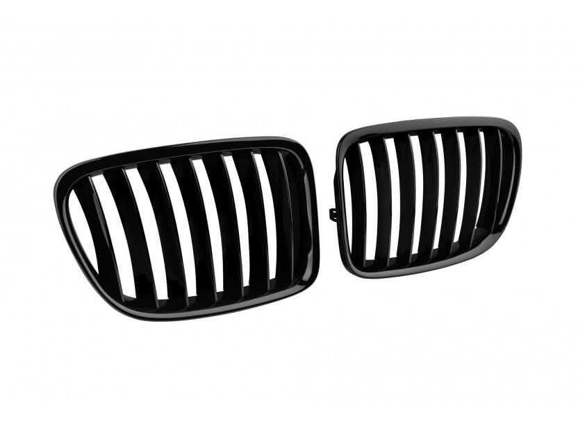 Бъбреци черен лак за BMW X1 E84 след 2009 година 2