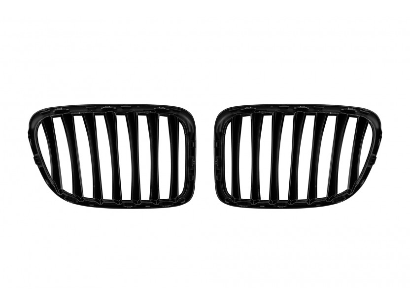Бъбреци черен лак за BMW X1 E84 2009-2015 3
