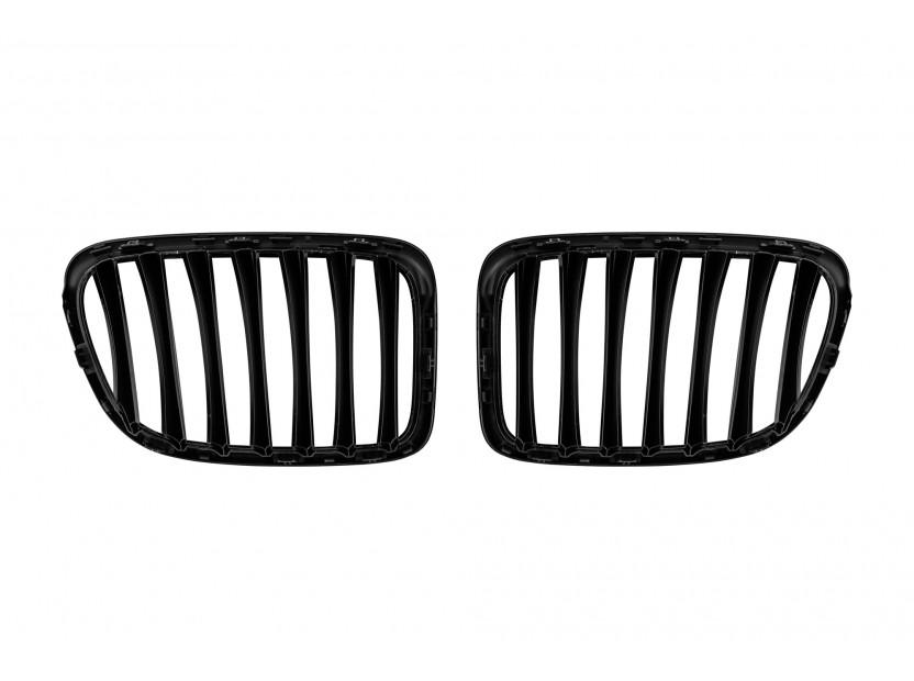 Бъбреци черен лак за BMW X1 E84 след 2009 година 3