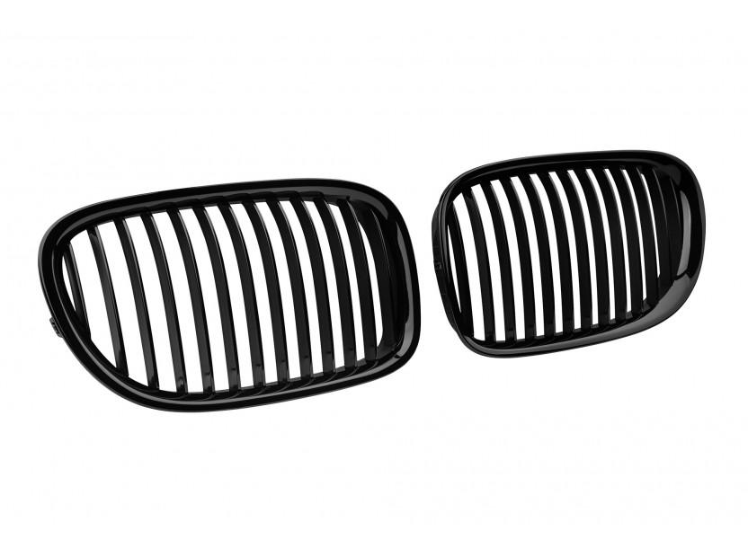Бъбреци черен мат за BMW серия 7 F01 къса база, F02 дълга база 2008-2015 2