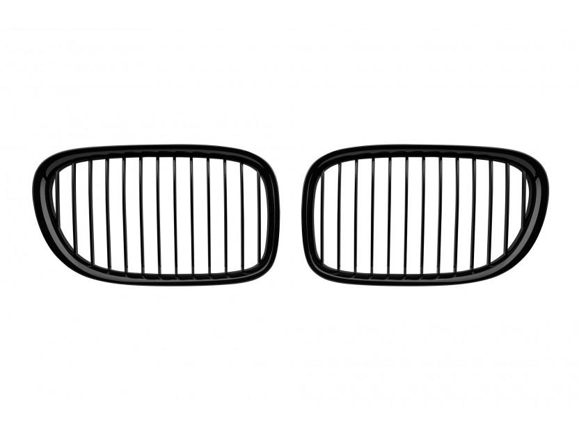 Бъбреци черен мат за BMW серия 7 F01 къса база, F02 дълга база 2008-2015