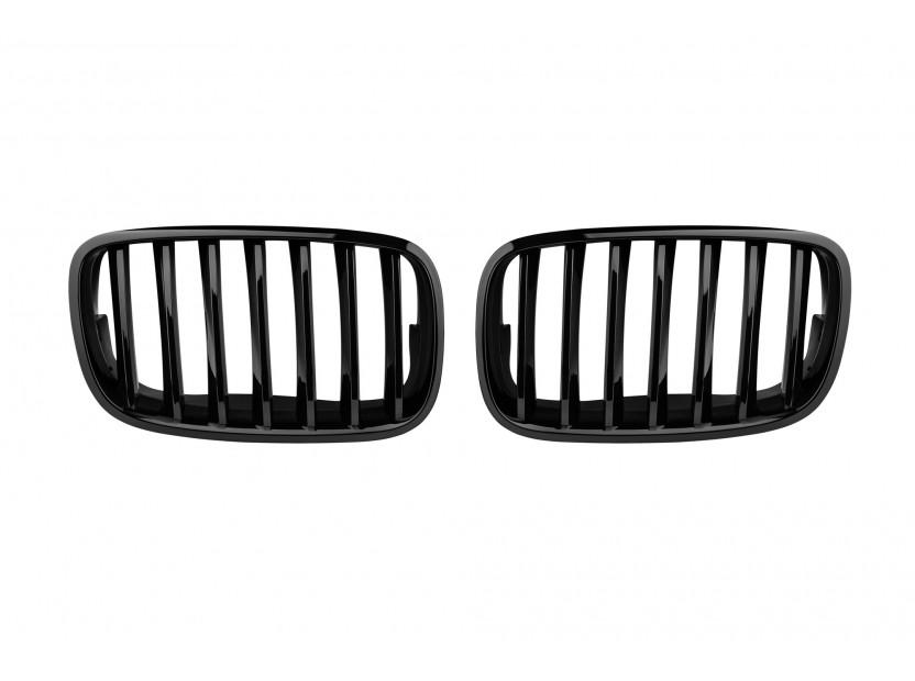 Бъбреци черен лак за BMW X5 E70 2007-2013/X6 E71 2008-2011