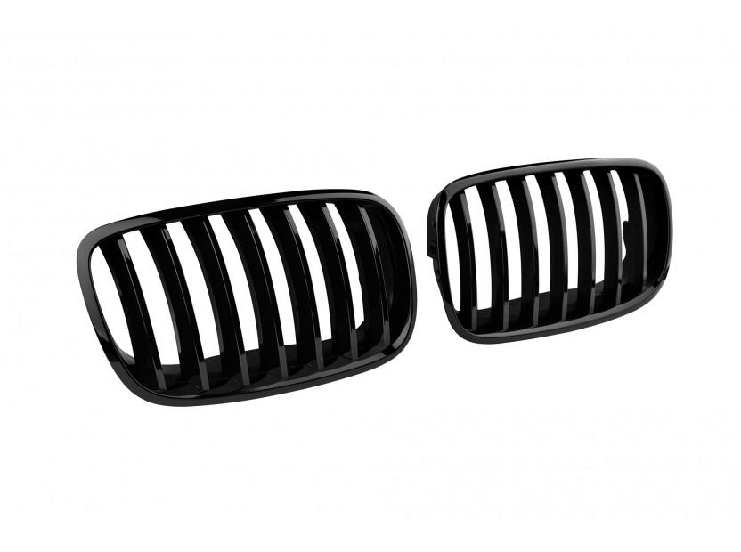 Бъбреци черен лак за BMW X5 E70 2007-2013/X6 E71 2008-2011 2