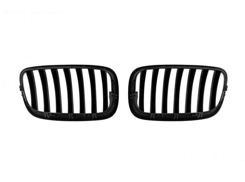 Бъбреци черен лак за BMW X5 E70 2007-2013/X6 E71 2008-2011 3