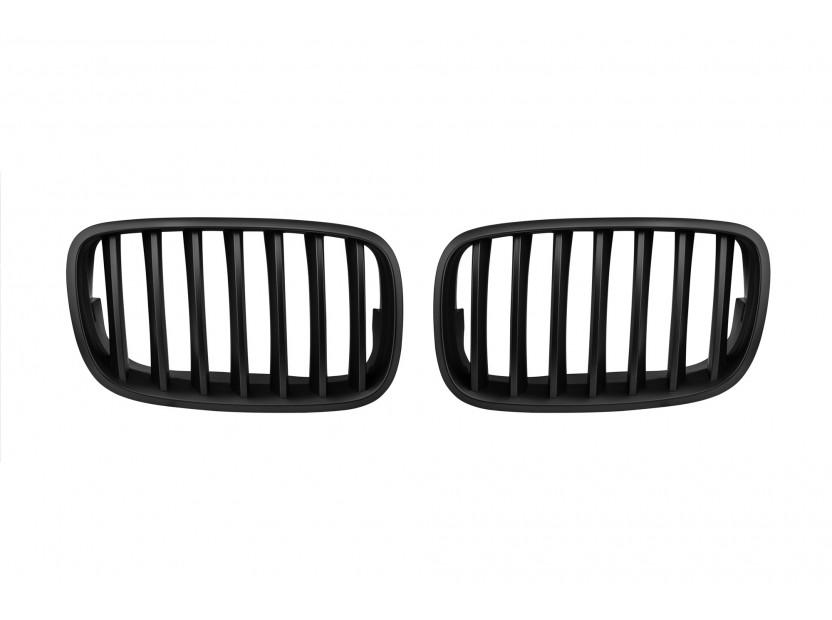 Бъбреци черен мат за BMW X5 E70 2007-2013, X6 E71 2008-2011