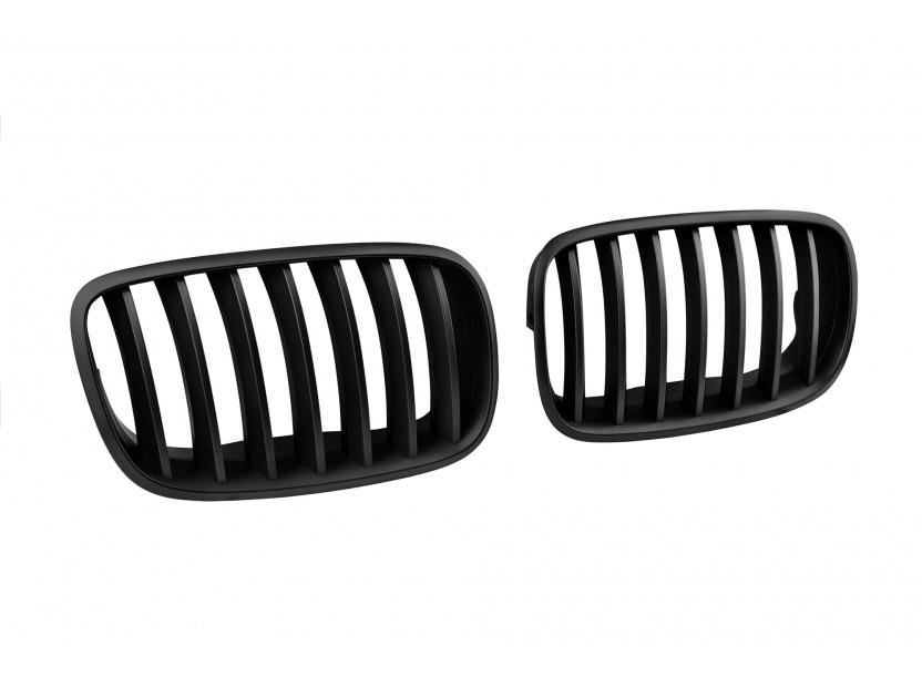 Бъбреци черен мат за BMW X5 E70 2007-2013, X6 E71 2008-2011 2