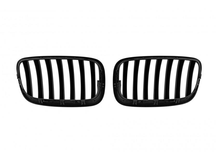 Бъбреци черен мат за BMW X5 E70 2007-2013/X6 E71 2008-2011 3