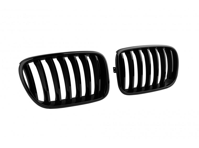 Бъбреци черен лак за BMW X3 F25 2010-2014 2