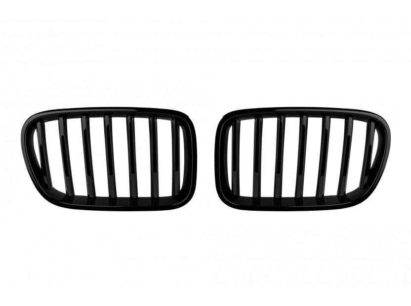 Бъбреци черен лак за BMW X3 F25 2009-2014