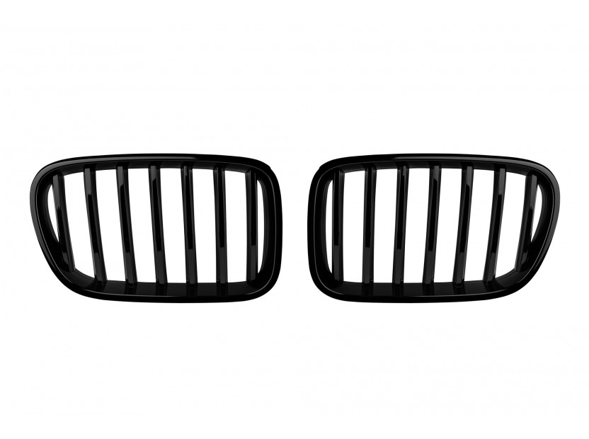 Бъбреци черен лак за BMW X3 F25 2010-2014