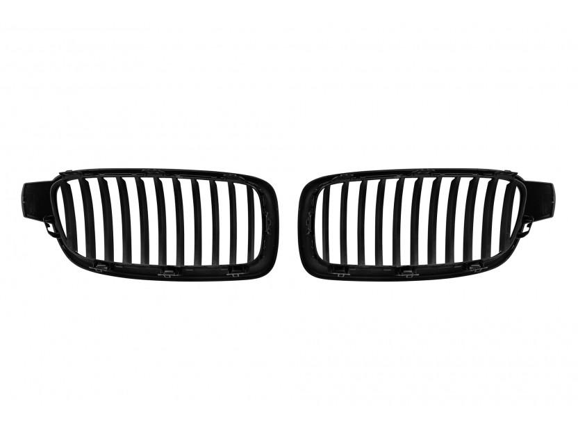 Бъбреци черен лак за BMW серия 3 F30 седан, F31 комби 2011-2019 3