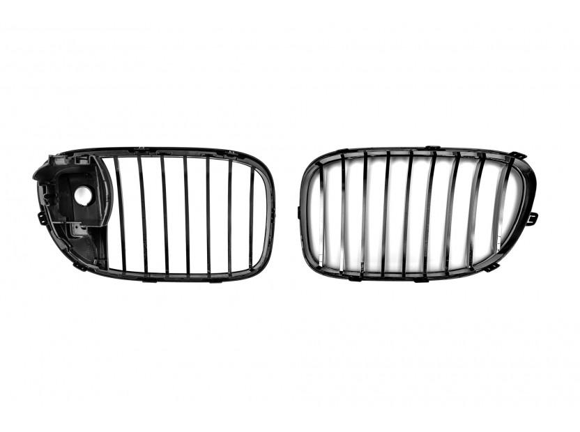 Бъбреци черен лак за BMW серия 7 F01 2012-2015 3