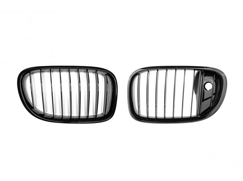 Бъбреци черен лак за BMW серия 7 F01 2012-2015