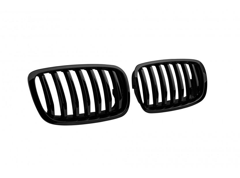 Бъбреци черен лак за BMW X6 E71 2011-2014 2