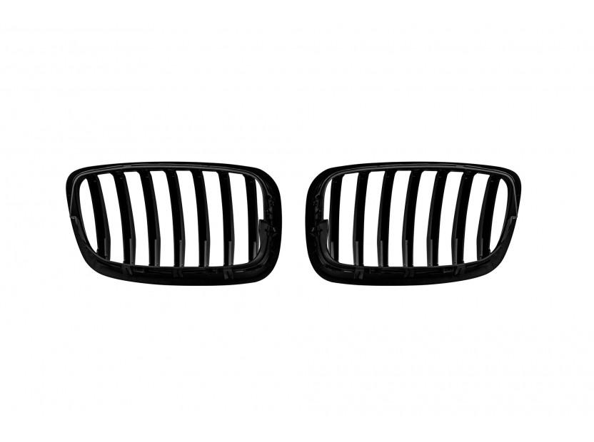 Бъбреци черен лак за BMW X6 E71 2011-2014 3