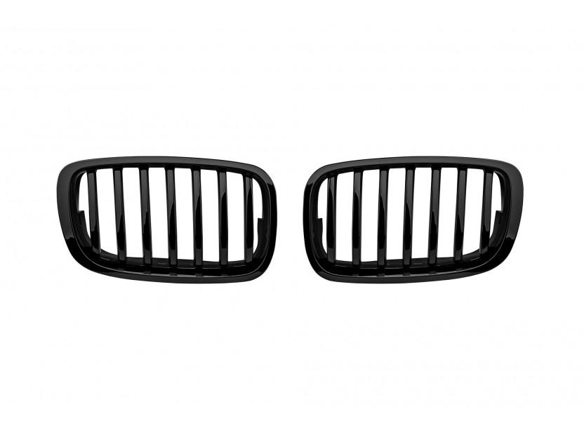 Бъбреци черен лак за BMW X6 E71 2011-2014