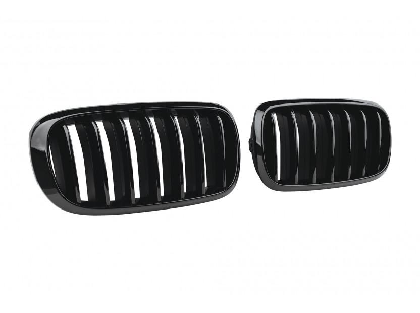 Бъбреци черен лак за BMW X5 F15 след 2013 година/X6 F16 след 2014 година 2
