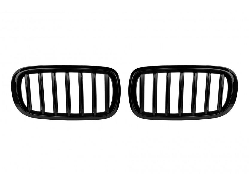 Бъбреци черен лак за BMW X5 F15 след 2013 година/X6 F16 след 2014 година