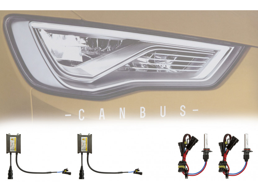 Ксенон система CANBUS H10 10000K 12V/35W 4