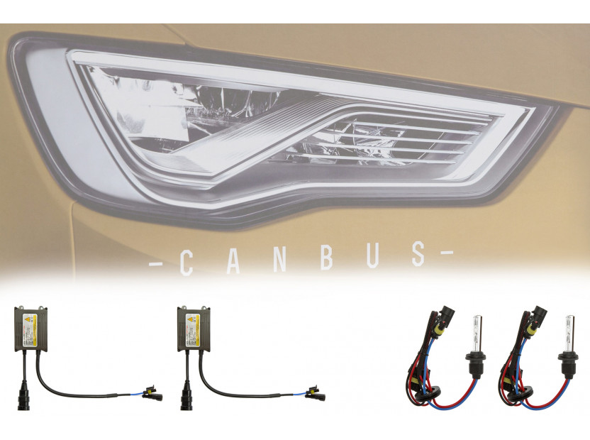 Ксенон система CANBUS H27/880/881 12000K 12V/35W 4