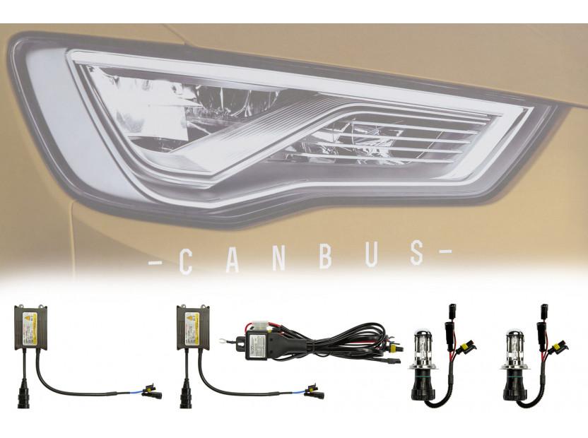 Ксенон система CANBUS H4-3 HI-LOW 4300K 12V/24V/35W 4