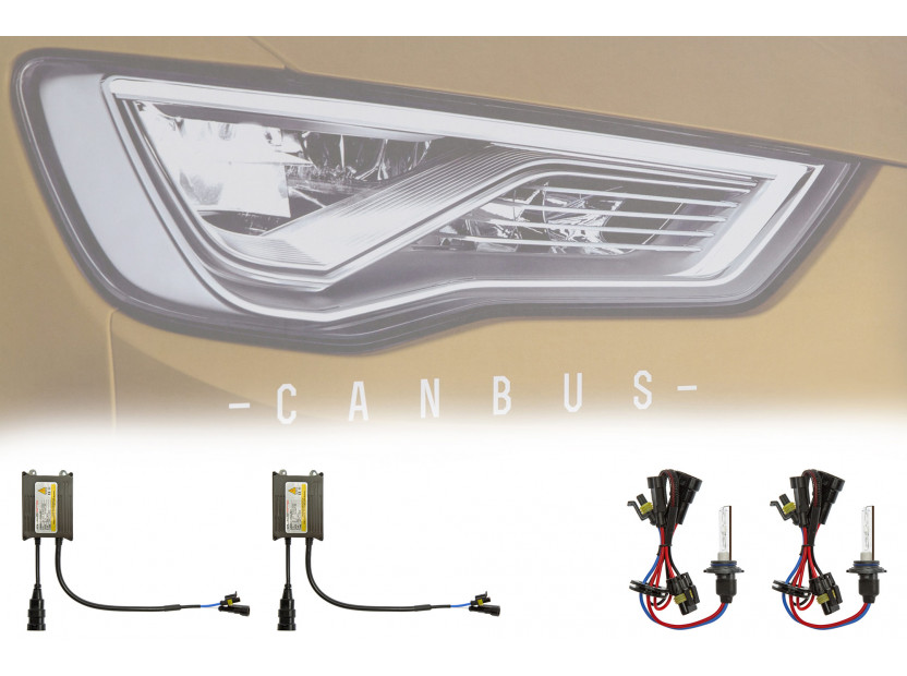 Ксенон система CANBUS HB4 8000K 12V/35W 4