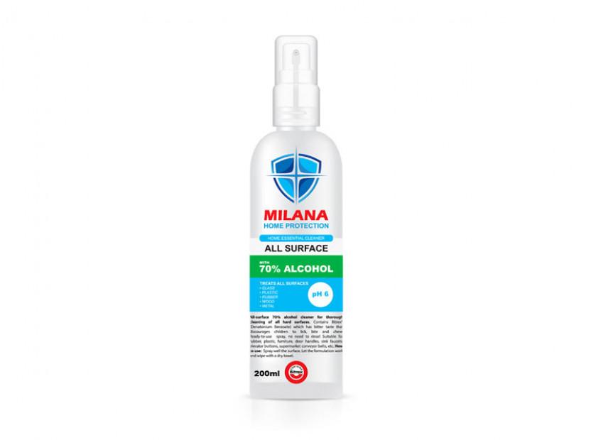 Дезинфектант Milana със 70% спирт, 200ml