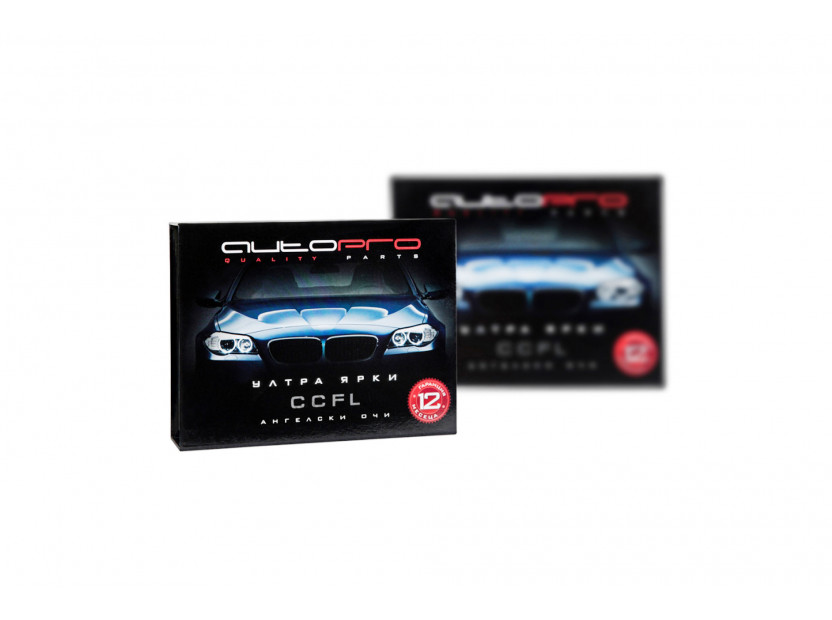 Бели CCFL ангелски очи аutopro за BMW серия 3 E36 1990-1998, серия 5 E39 1995-2000, серия 7 E38 1994-2001 2