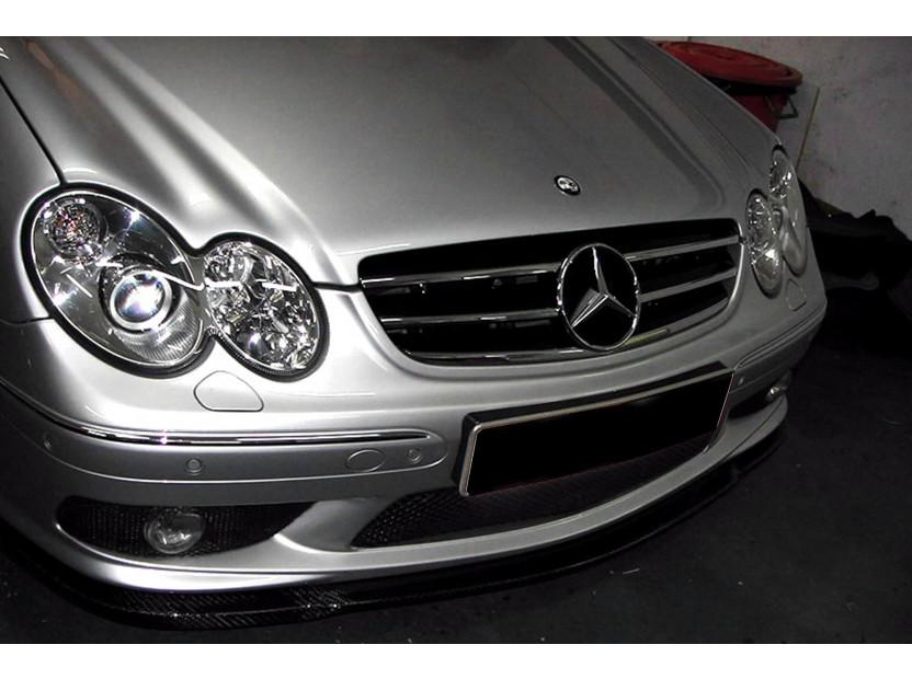 Хром/черна решетка за Mercedes CLK C209 2002-2009 6