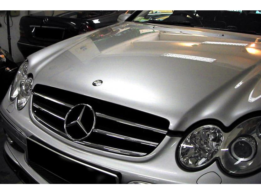 Хром/черна решетка за Mercedes CLK C209 2002-2009 5