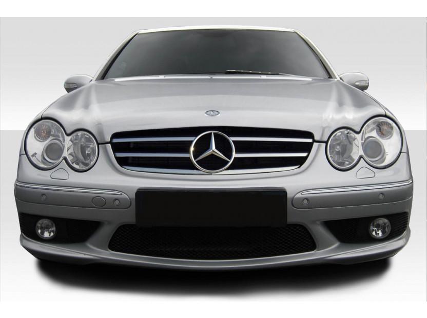 Хром/черна решетка за Mercedes CLK C209 2002-2009 4