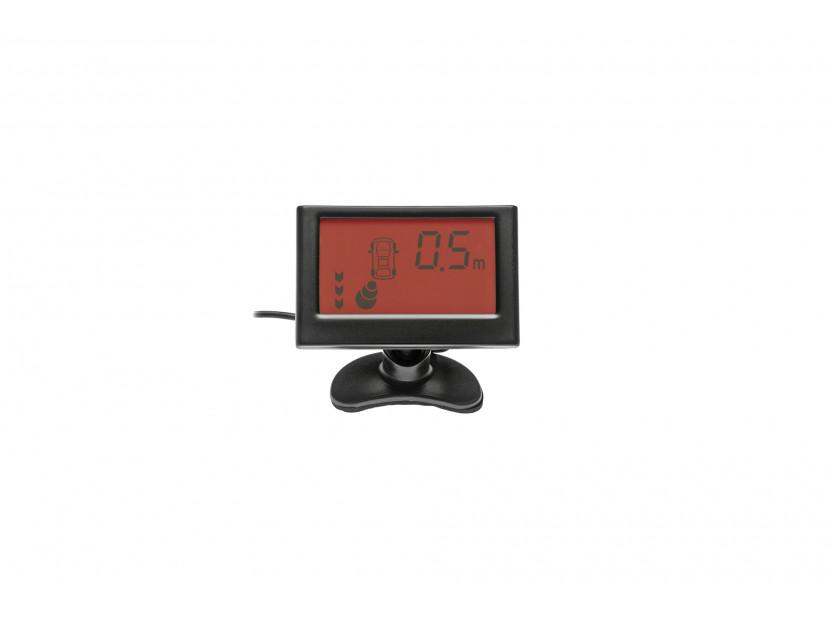 Парктроник система с 2.3'' LCD дисплей RD-058 с 8 черни датчика 7