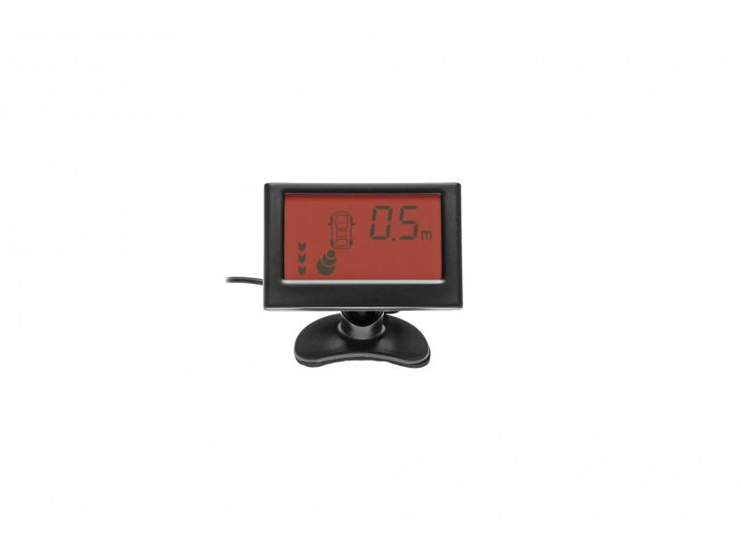 Парктроник система с 2.3'' LCD дисплей RD-058 с 4 черни датчика 7