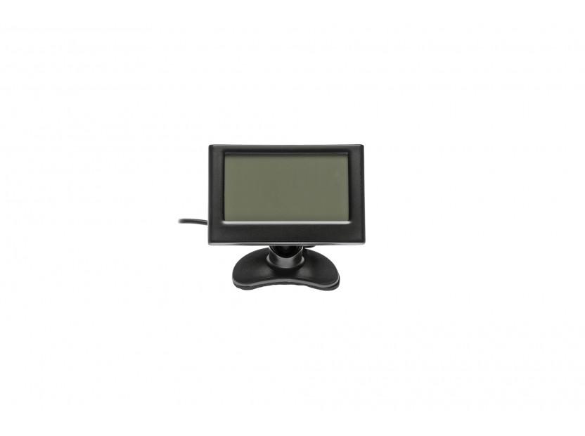 Парктроник система с 2.3'' LCD дисплей RD-058 с 8 черни датчика 4