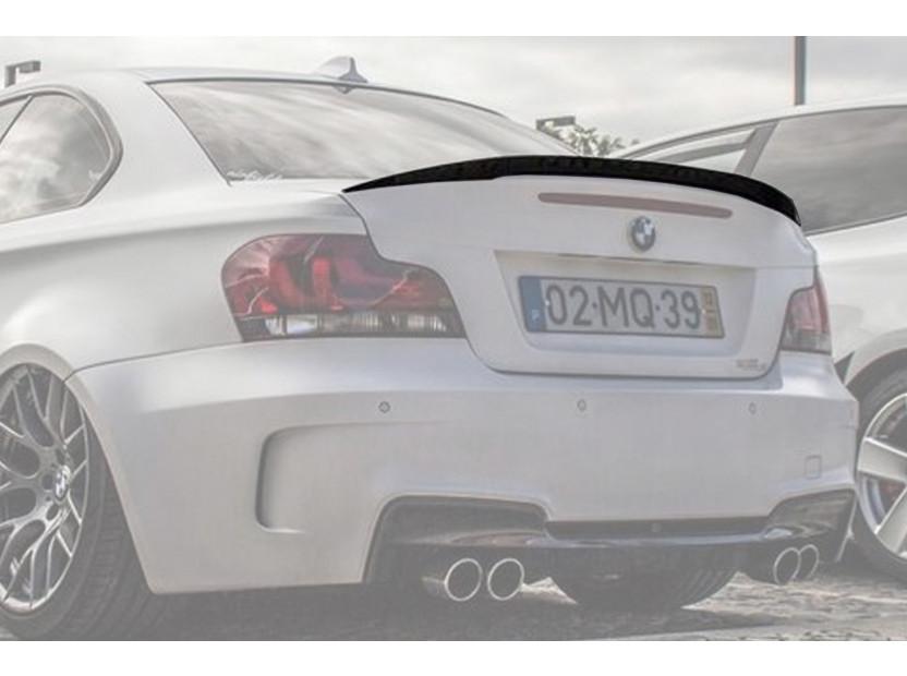 Спойлер за багажник тип M tech за BMW серия 1 E82 купе 2007-2013