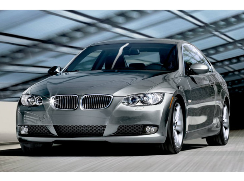 Бъбреци хром/черни за BMW серия 3 E92 купе, E93 кабрио 2006-2009 6