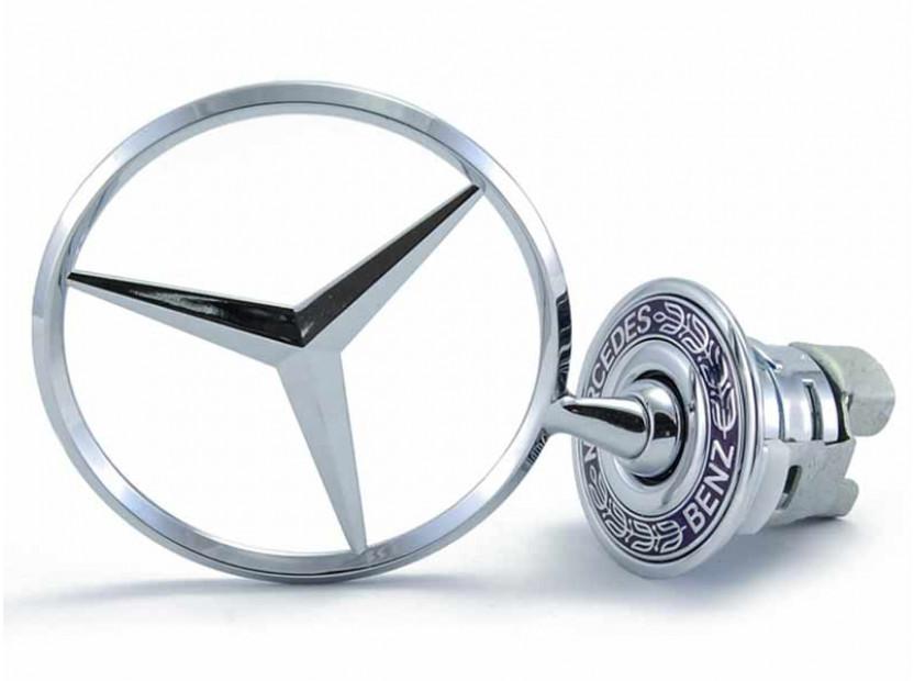 Оригинална емблема Mercedes-Benz със стойка за преден капак за Mercedes C класа / E класа / S класа
