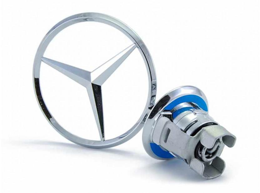 Оригинална емблема Mercedes-Benz със стойка за преден капак за Mercedes C класа / E класа / S класа 2